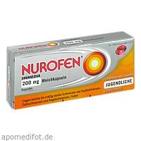 Nurofen Immedia 200 mg Weichkapseln, 10 ST, Reckitt Benckiser Deutschland GmbH