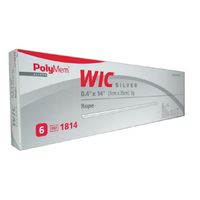 PolyMem Wic silber Tamponade 1cmx35cm, 6 ST, Mediset Clinical Products GmbH