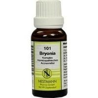 BRYONIA KOMPL NESTM 101, 20 ML, Nestmann Pharma GmbH