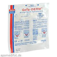 Gotha-Derm Hydrokolloides Wundpflaster 15cmx15cm, 1 ST, Gothaplast GmbH