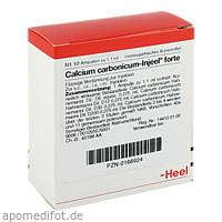 CALCIUM CARB INJ FORTE, 10 ST, Biologische Heilmittel Heel GmbH