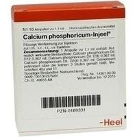 CALCIUM PHOS INJ, 10 ST, Biologische Heilmittel Heel GmbH