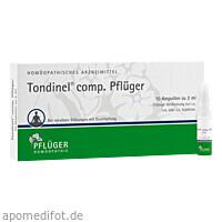 Tondinel comp. Pflüger, 10 ST, Homöopathisches Laboratorium Alexander Pflüger GmbH & Co. KG