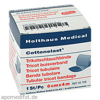Trikotschlauchbinde 6cmx4m, 1 ST, Holthaus Medical GmbH & Co. KG