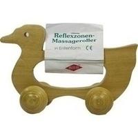 Massageroller Holz 4 Rollen Entenform, 1 ST, Büttner-Frank GmbH