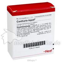 CANTHARIS INJ, 10 ST, Biologische Heilmittel Heel GmbH