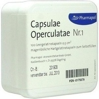 CAPSULAE Operculatae Kapseln Nr.1 0,5, 100 ST, Pharmapol Arzneimittelvertrieb-GmbH