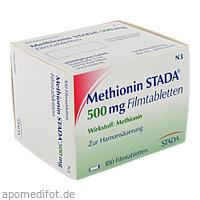 Methionin STADA 500mg Filmtabletten, 100 ST, STADA Consumer Health Deutschland GmbH