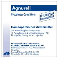 Agnurell Potenz Accord, 10X2 ML, Sanorell Pharma GmbH & Co. KG