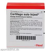 CARTILAGO SUIS INJ FOR ORG, 10 ST, Biologische Heilmittel Heel GmbH