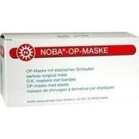 NOBA OP MASKE mit Gummibändern, 50 ST, Nobamed Paul Danz AG
