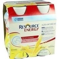 RESOURCE Energy Banane, 4X200 ML, Nestle Health Science (Deutschland) GmbH