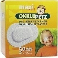 OKKLUPETZz maxi weiß, 50 ST, Berenbrinker Service GmbH