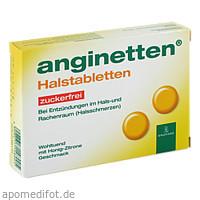 anginetten Halstabletten zuckerfrei, 24 ST, MCM KLOSTERFRAU Vertr. GmbH