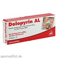 Dolopyrin AL, 20 ST, Aliud Pharma GmbH