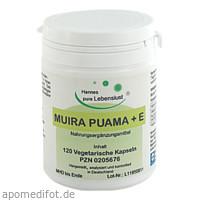 Muira Puama 500 Vegi Kapseln, 120 ST, G & M Naturwaren Import GmbH & Co. KG