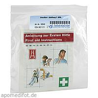 ERSTE HILFE ANLEITUNG BROSCHUERE, 1 ST, Dr. Junghans Medical GmbH