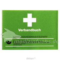 ERSTE HILFE VERBANDBUCH A5 50BLATT, 1 ST, Dr. Junghans Medical GmbH