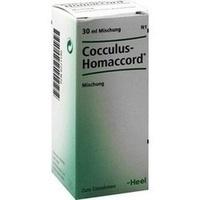 COCCULUS HOMACCORD, 30 Milliliter, Biologische Heilmittel Heel GmbH