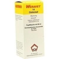 OSTEOSAL 14 Tropfen vet., 50 ML, Biokanol Pharma GmbH