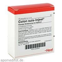 COLON SUIS INJ ORG, 10 ST, Biologische Heilmittel Heel GmbH