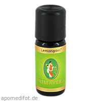 Lemongrass kbA, 10 Milliliter, Primavera Life GmbH