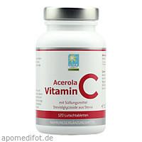 Acerola Vitamin C Lutschtabletten, 120 ST, Apozen Vertriebs GmbH