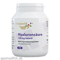Hyaluronsäure 100mg (Gelenk), 100 ST, Vita World GmbH