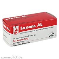 LAXANS AL magensaftresistente überzogene Tabletten, 200 ST, Aliud Pharma GmbH