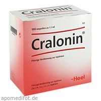 CRALONIN, 100 ST, Biologische Heilmittel Heel GmbH