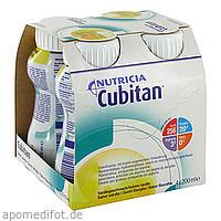 Cubitan Vanillegeschmack Trinkflasche, 4X200 ML, Nutricia Milupa GmbH