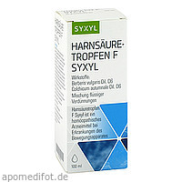 Harnsäuretropfen F Syxyl, 100 ML, MCM KLOSTERFRAU Vertr. GmbH