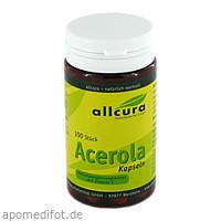 Acerola Kapseln, 100 ST, Allcura Naturheilmittel GmbH