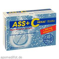 ASS + C Hexal gegen Schmerzen u. Fieber, 20 ST, HEXAL AG