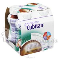 Cubitan Schokoladengeschmack Trinkflasche, 4X200 ML, Nutricia Milupa GmbH