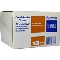 COMBIHESIVE NATURA HAFTGELATINE-BASIS STOMAH 38mm, 10 Stück, Convatec (Germany) GmbH