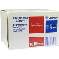 COMBIHESIVE NATURA HAFTGELATINE-BASIS STOMAH 57mm, 10 ST, Convatec (Germany) GmbH