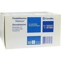 COMBIHESIVE NATURA HAFTGELATINE-BASIS STOMAH 70mm, 10 ST, Convatec (Germany) GmbH