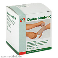 DAUERBINDE kräftig 6 cmx7 m, 1 ST, Lohmann & Rauscher GmbH & Co.KG