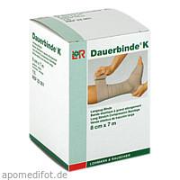 DAUERBINDE kräftig 8 cmx7 m, 1 ST, Lohmann & Rauscher GmbH & Co.KG