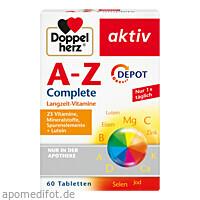 Doppelherz A-Z Depot, 60 ST, Queisser Pharma GmbH & Co. KG