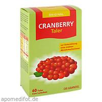 CRANBERRY CEROLA-Taler GRANDEL, 60 ST, Dr. Grandel GmbH