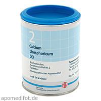 BIOCHEMIE DHU 2 CALCIUM PHOSPHORICUM D 3, 1000 ST, Dhu-Arzneimittel GmbH & Co. KG