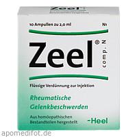 Zeel comp. N, 10 ST, Biologische Heilmittel Heel GmbH