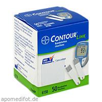 CONTOUR Sensoren Teststreifen, 50 ST, Orifarm GmbH
