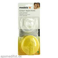Medela Contact Brusthütchen Gr. L m. Aufbew.box, 2 ST, Medela Medizintechnik GmbH & Co. Handels KG