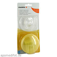 Medela Contact Brusthütchen Gr. S m. Aufbew.box, 2 ST, Medela Medizintechnik GmbH & Co. Handels KG