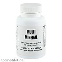 Multi Mineral, 60 ST, Eder Health Nutrition