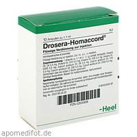 DROSERA HOMACCORD, 10 ST, Biologische Heilmittel Heel GmbH