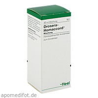 DROSERA HOMACCORD, 30 ML, Biologische Heilmittel Heel GmbH
